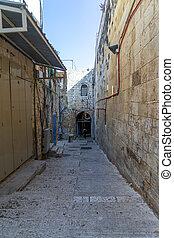 Jerusalem Old City street