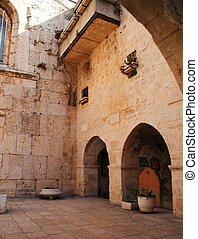 Jerusalem old city streets