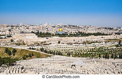 Jerusalem Old City view