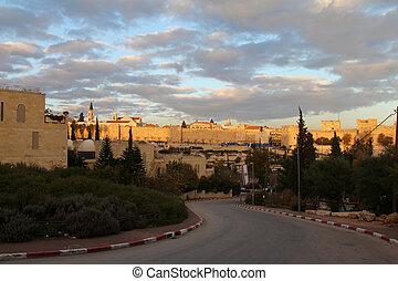 Jerusalem Old City Wall