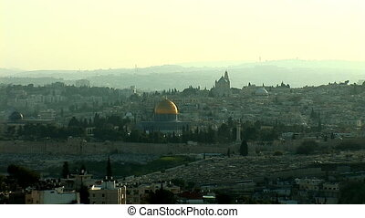 Jerusalem old sunset 0