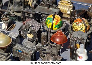 jerusalem, osten, antiquitäten, markt