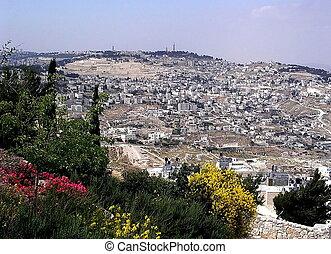Jerusalem panorama 2005