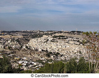 Jerusalem panorama 2012