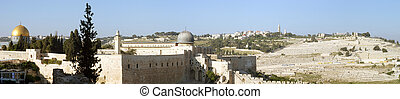 Jerusalem panorama - Jerusalem, Israel, panorama