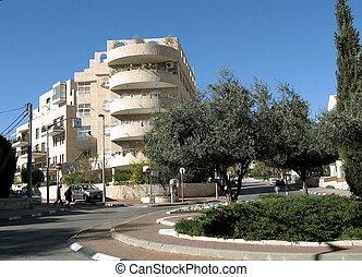Jerusalem Reha Freier Square 2010 - Reha Freier Square in...