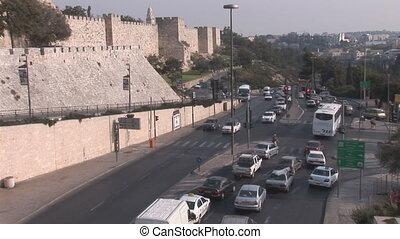Jerusalem road - Jerusalem street road