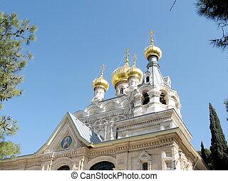 Jerusalem Saint Mary Magdalene Church 2008