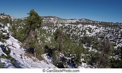 Jerusalem Snowy Mountains - Beautiful video flying over...