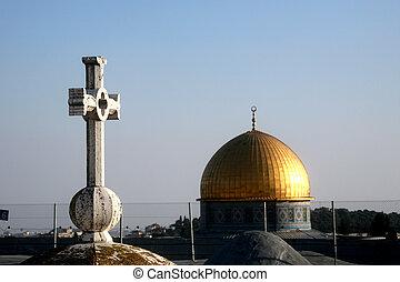 Jerusalem, symbols of faith