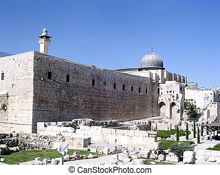 Jerusalem The Al-Aqsa Mosque 2005