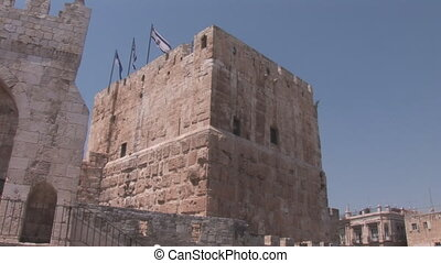 Jerusalem tower - Tower of King David in Jerusalem