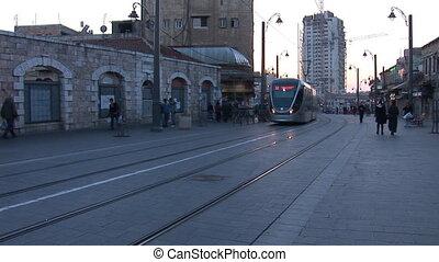 Jerusalem tram 2