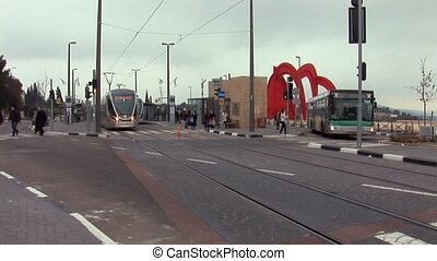 Jerusalem tram 3