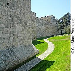 Jerusalem walls.