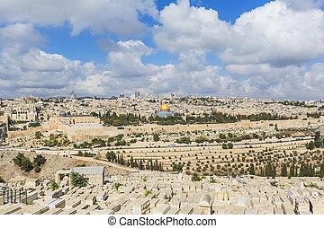 old city of Jerusalem - JERUSALEM/ISRAEL - 20 SEPTEMBER...