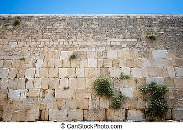Jerusalem's Old City - Western Wall in the Old City of ...