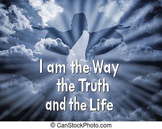 """jesús, con, el, palabra, """"i, soy, el, manera, t"""