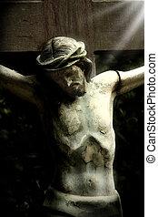 jesús, en, el, cruz