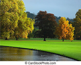 jesień, anglia