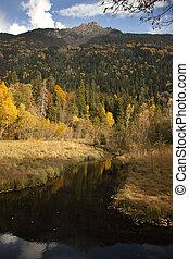jesień, góry