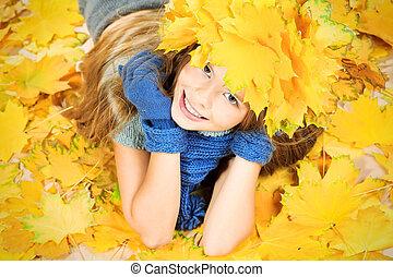 jesień, jeden