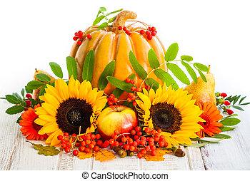 jesień, nieruchome życie