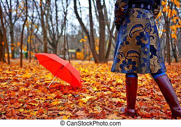 jesień, nosić
