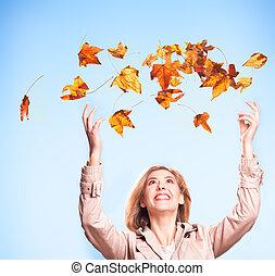 jesień, radość