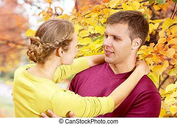 jesień, romans