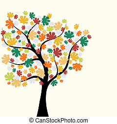 jesień, tło