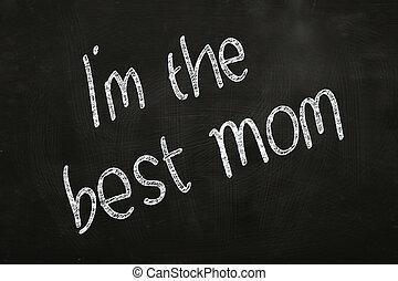 jestem, najlepszy, mamusia