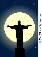 jesucristo, estatua