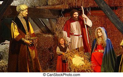 jesucristo, nacimiento
