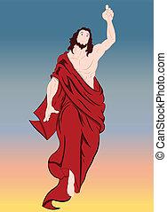 jesucristo, retrato