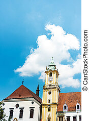 Jesuit Church in Bratislava, Slovakia