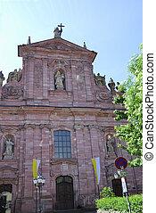 Jesuit Church (Jesuitenkirche) in Heidelberg (Germany)