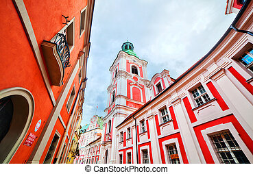 Jesuit College in Poznan, Posen, Poland. Established by King...