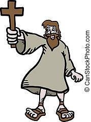 Jesus cartoon - Creative design of jesus cartoon
