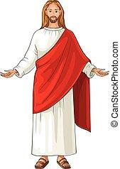 Jesus Christ  also referred to as Jesus of Nazareth