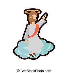 jesus christ ascension pray line