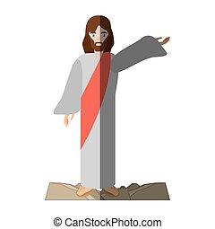 jesus christ christianity image shadow