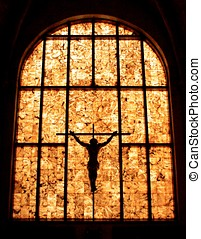 Jesus Christ cross sculpture