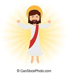 jesus christ design, vector illustration eps10 graphic