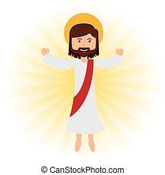 jesus christ design, vector illustration eps10 graphic
