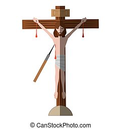 jesus christ dies cross shadow