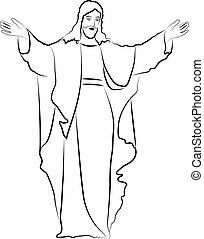 Jesus Christ - sketch Jesus Christ