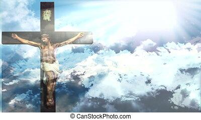 Jesus Christ Easter - Jesus Christ resurrection in Easter,...