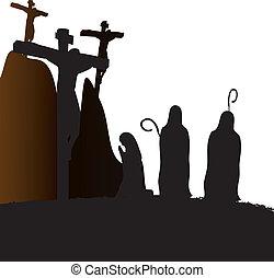 jesus christ, keresztre feszítés