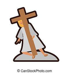 jesus christ meet virgin mary line